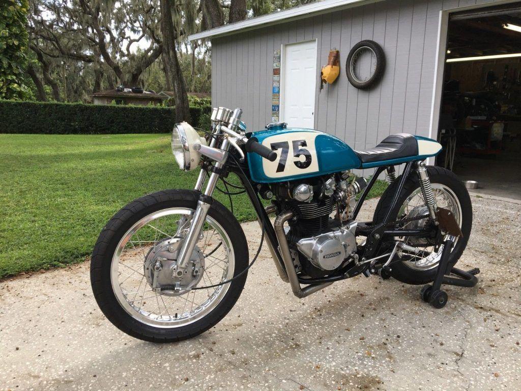 1975 Honda CB500T Cafe Racer