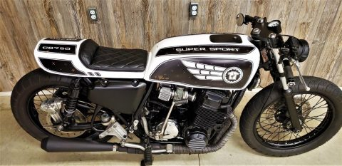 1976 Honda CB750f Super Sport Cafe Racer Custom for sale